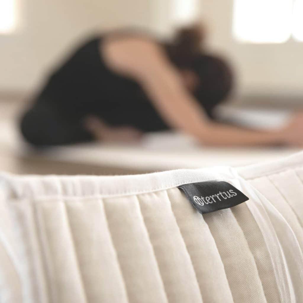 terrtus Baumwoll Yogamatte closeup